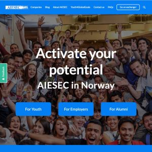 AIESEC University of Oslo Website